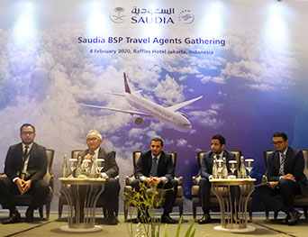 SAUDIA Indonesia Gelar BSP Travel Agent Gathering 2020